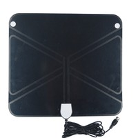 Top quality CU material ANT-101-BB best indoor tv antenna black flat stick tv receiver ANT-101-BB