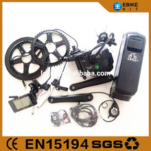 bafang/8fun mid drive motor kits 48v 750w with lithium battery made in china