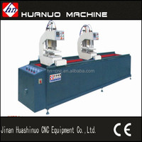 pvc profiles welding machine