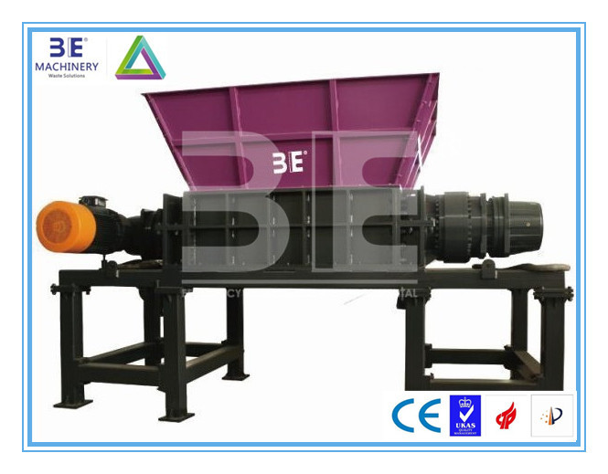 CE Marking with 3E Double shaft shredder/Two shaft shredder/Plastic shredder & crusher, high quality by China