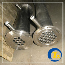 Manufacturer Supplier titanium shell and tube heat exchanger FOR LAB