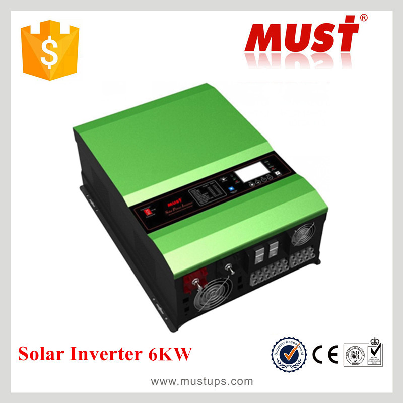 <MUST POWER>PV35-6KW Solar Power Inverter with controller and charger 48V DC