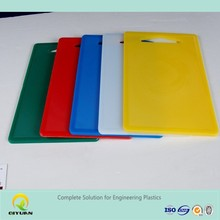 10 mm thickness uhmwpe food grade cutting board/ flexible plastic cutting sheet/