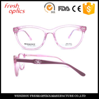 Latest design women spectacle frames