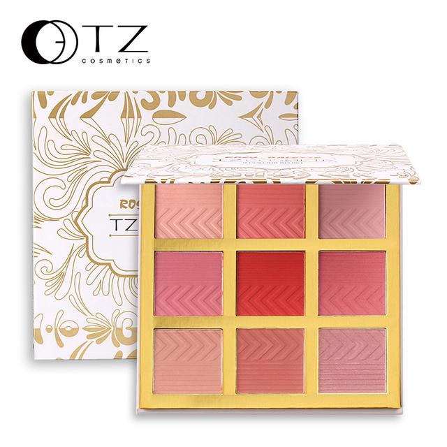 TZ cosmetics Face Make Up Cometics Blusher 9 color makeup blush palette