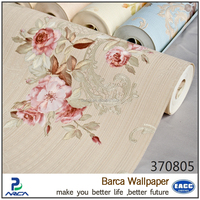 3d light embossed flowers wallpaper papel de parede for wall deco