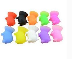 Hight Quality Mini Pig Shaped Silicone Mobile Phone Holder