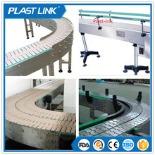 Plast Link cheap chain plate conveyor for motorcycle assembly line