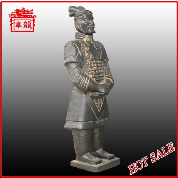 For garden antique terracotta warriors souvenir YHT87-1
