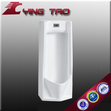 china wholesale ceramic pedestal urinal water saving wall hung urinal male urine container