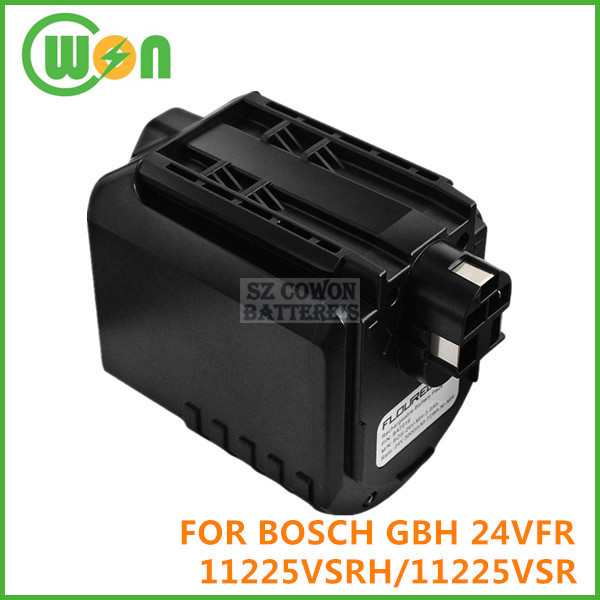 24V Replacement Battery for BOSCH GBH 24VFR GBH 24VRE 11225VSRH 11225VSR BAT019 BAT020 BAT021 Power Tools Battery