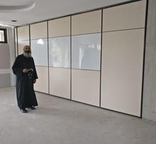 Movable sound proof partition wall acoustic folding partition for Saudi Arabia hotel