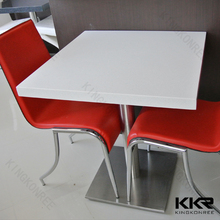marble table tops catering table and chair for coffee shop
