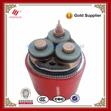 No.0367-- 70mm2 95mm2 33kV copper conductor electric XLPE cable prices per meter SWA steel wire armoured cable
