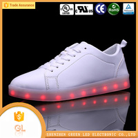 High Top LED Shoes Flashing Sneakers,Lightning shoes led sneaker