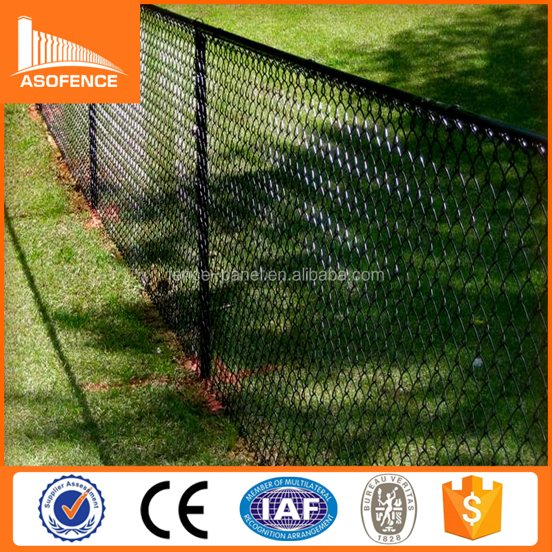 hot sale 6ft garden fence galvanized chain link fence slats lowes