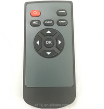Small Size Conductive PET Rubber Button 10 Keys LCD Monitor IR Remote Control for Video Display