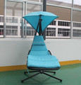 Best Choice Outdoor Metal Garden Adult Swing Chair With Cushion