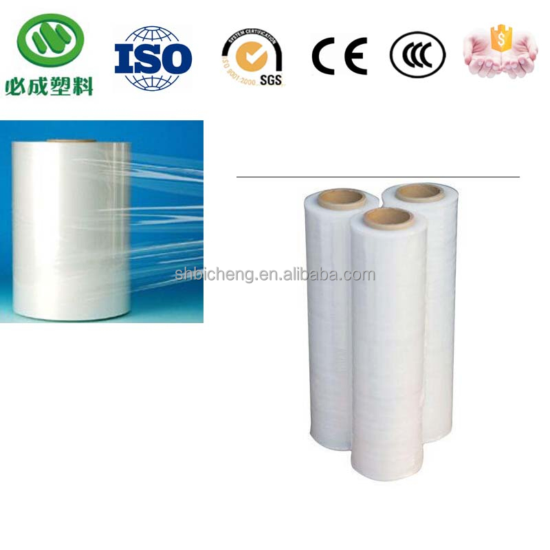 24 mircon Strong Elongation Stretch Films with hot selling
