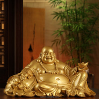 Europe home office resin craft decoration laughing Buddha statues