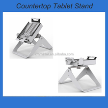 New design adjustable anti-theft pos tablet stand fit for different models of ipad
