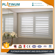 Deep impression hot sale aluminum louvered windows with screen
