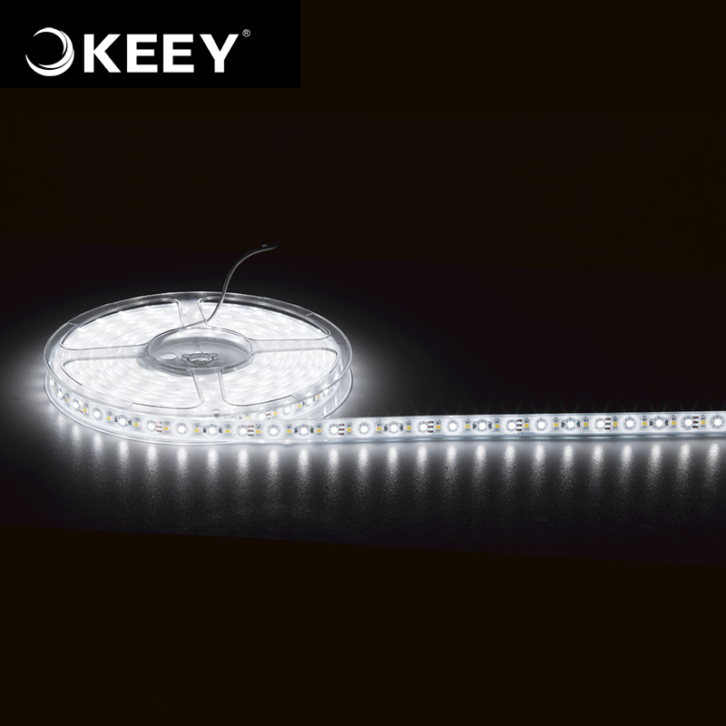 KEEY China Factory Waterproof Highlight 12W Per Meter SMD5050 Led Strip Light QY-DD603C-2