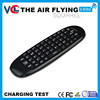 fashion mini rechargeable air tv mouse with hebrew keyboard for smart tv