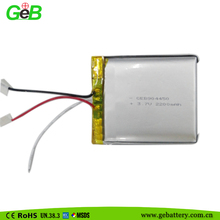 Manufacture GEB904450 Rechargeable Lipo Polymer Battery 2200mah 3.7v for Digital Camera