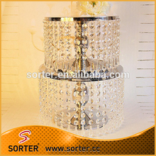 crystal cake stands for wedding cakes