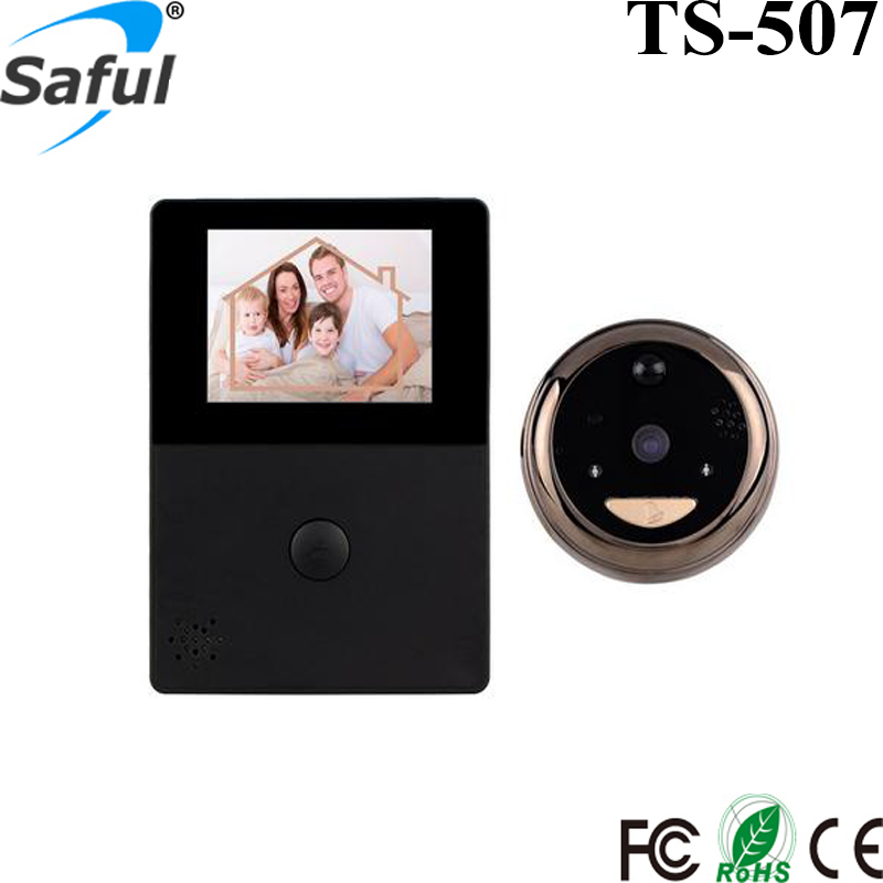 Low Price high quality 2.8 inch wifi peephole door viewer,wireless digital door viewer,door viewer peephole glass lens