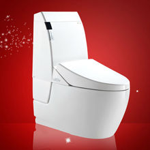 New modern floor mounted bathroom toilet ceramic one piece toilet types sanitary ware siphonic washdown water closets