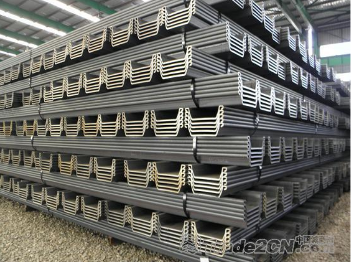 Selling stock SY295 USD745 hot rolled WR/WRU larson U style w400 steel sheet pile