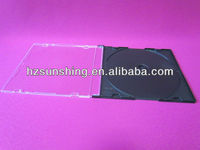 5.2mm Slim Single Black CD/DVD Jewel Case