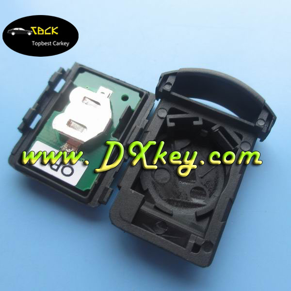 universal car key for Opel Corsa 2 buttons 433MHZ opel key blank key remote part