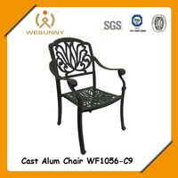 WF1056-C9 discount dining aluminum beach chair import from China