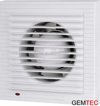 Flat louver with indicator light Axial flow Window installation Bathroom Electric Extractor fan APC C1