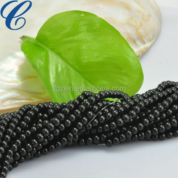 Plastic String Pearl With ABS Material