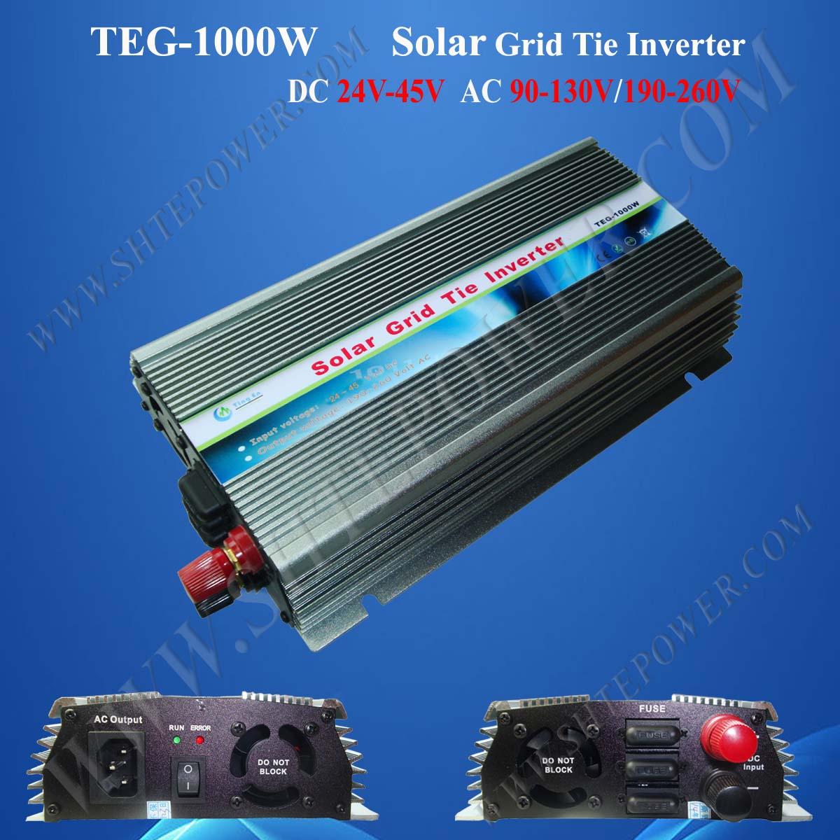 Dc 24 45v Grid Tie Inverter 1kwgrid For Solar 36v Wiring Panels To 1kw