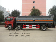 Chemical Tank Truck For Corrosive Liquid Material Nitric Acid Chemical Tanker Truck