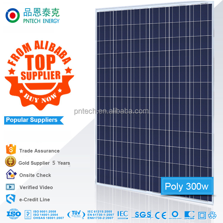 Hot sale solar panel photovoltaic with full certificate TUV CE ISO INMETRO