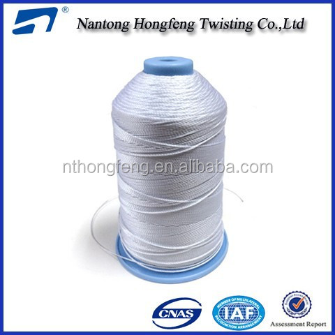 210D/4 polyester bonded thread for leather shoes