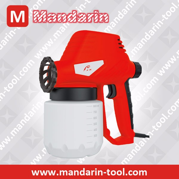 electrostatic paint spray gun for wall painting, wood painting
