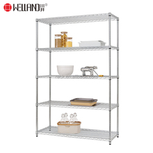Basic 5 Shelf Heavy Duty NSF Chrome Steel Storage Wire Shelving Liner Rack Accessories 48 by 18 by 72 Inch