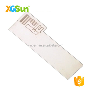 Passive adhesive personalized UHF RFID Jewelry Sticker tags