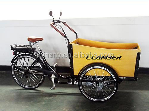 6 speeds three wheels electric cargo bike/street bike and adult cargo bike