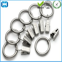 Metal Drapery Clip Ring Steel Curtain Clip Ring