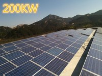 Singo 200KW grid tied PV photovoltaic solar power energy system for industry