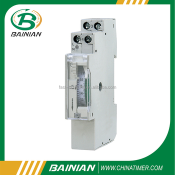 24 Hour Din Rail Mechanical Timer, IP20