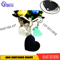 promotional gifts led custom shape keychain cheap mini projector keychain logo projector